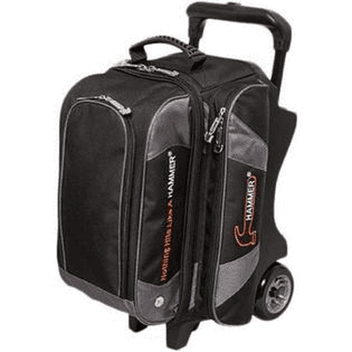 Shop Hammer Premium 2 Ball Roller Bowling Bag in Black Carbon Color from Bowlers Paradise