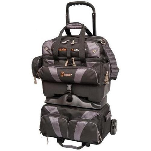 Hammer Premium 4 Ball Roller Bowling Bag in Black Carbon