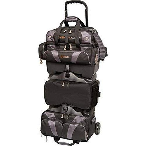 Shop Hammer Premium 6 Ball Roller Bowling Bag in Black Carbon from Bowlers Paradise