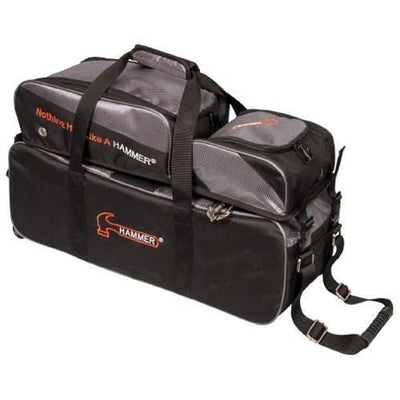 Hammer Triple Tote Plus Black Carbon