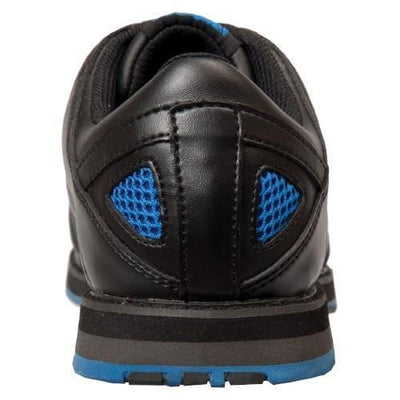 KR Strikeforce Mens Flyer Black Blue Wide Bowling Shoes