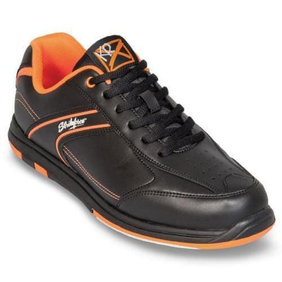Shop KR Strikeforce Flyer Black Orange Bowling Shoes from BowlersParadise.com