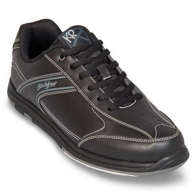 Shop KR Strikeforce Flyer Black Bowling Shoes For Men at BowlersParadise.com