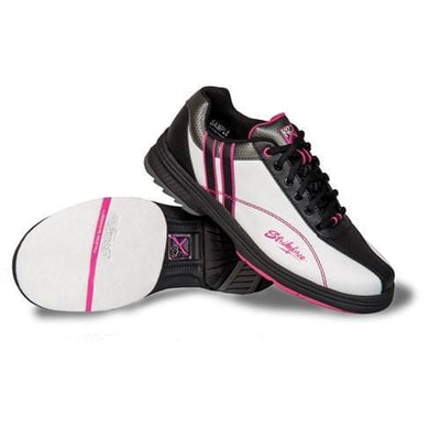KR Womens Starr White Black Pink Right Hand Wide