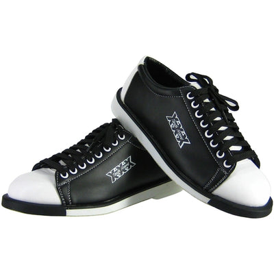 Shop Tenth Frame Classic Bowling Shoes For Men at Bowlers Paradise in Black/White color