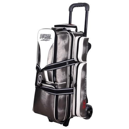 Shop Storm 3 Ball Rolling Thunder Signature Platinum Bowling Bag from Bowlers Paradise