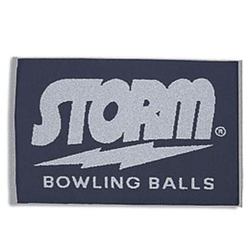Storm Logo Navy/Grey Towel