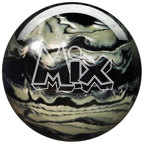 Storm Mix Bowling Ball in Black Silver Color