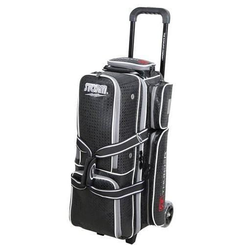 Shop Storm Rolling Thunder 3 Ball Roller Signature Black Diamond Bowling Bag - Bowlers Paradise