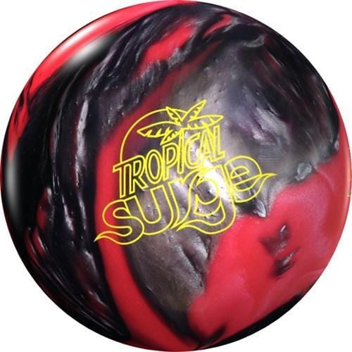 Storm Tropical Surge Pearl Pink Black Bowling Ball-BowlersParadise.com