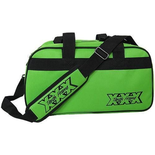 Tenth Frame Boost Double Tote Plus Lime Bowling Bag