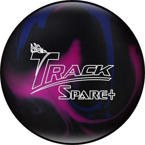 Track Spare Purple Blue Black Bowling Ball