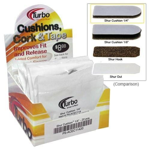 Turbo Shur Cushion Tape 1/4 in. 20 CT-BowlersParadise.com