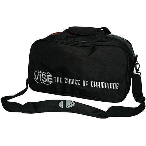 Vise 2 Ball Clear Top Tote Black