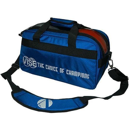 Vise 2 Ball Clear Top Tote Blue