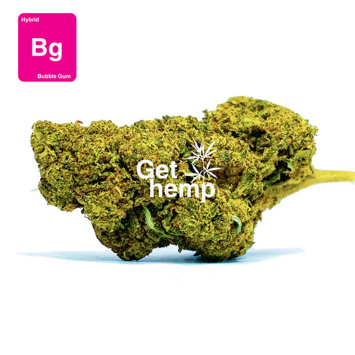 """Bubble Gum"" CBD Hemp Flowers (CBD 30% Max) - Gethemp"