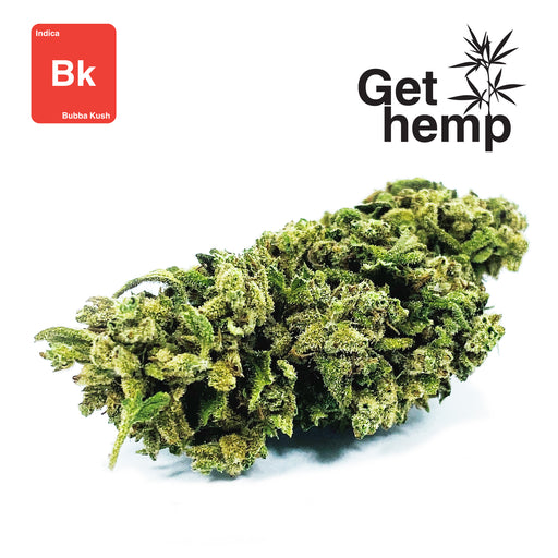 """Bubba Kush"" CBD Hemp Flowers (CBD 16% Max) - Gethemp"