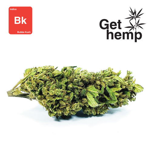 """Bubba Kush"" CBD Hemp Flowers (CBD 16% Max) - gethemp.co.uk"