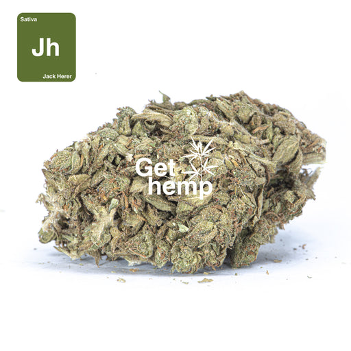 """Jack Herer"" CBD Hemp Flowers (CBD 15% Max) - Gethemp"