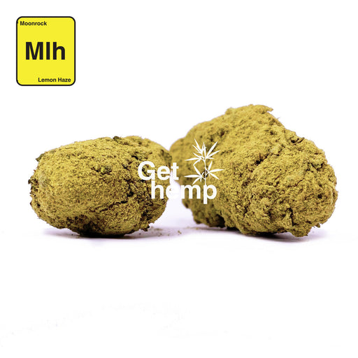 """Super Lemon Haze"" Hemp Moonrock (CBD 25% MAX) - Gethemp"