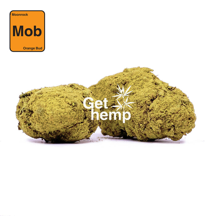 """Orange Bud"" Hemp Moonrock (CBD 25% MAX) - gethemp.co.uk"