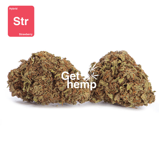 """Strawberry"" Hemp Flowers (CBD 20% MAX) - Gethemp"