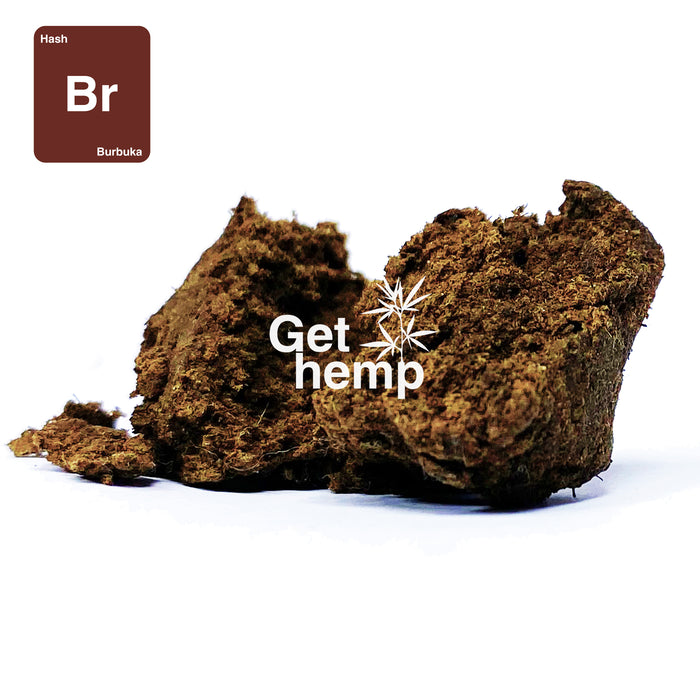 """Burbuka"" Hemp Hash (CBD 20% MAX) - gethemp.co.uk"