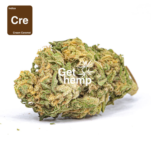 """Cream Caramel"" CBD Hemp Flowers (CBD 22% Max) - gethemp.co.uk"