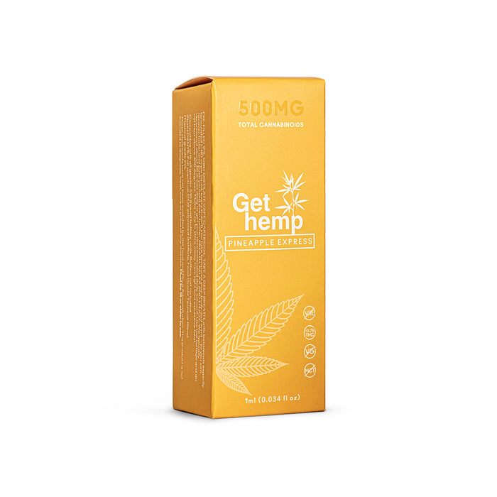 CBD Cartridge 500mg Pineapple Express