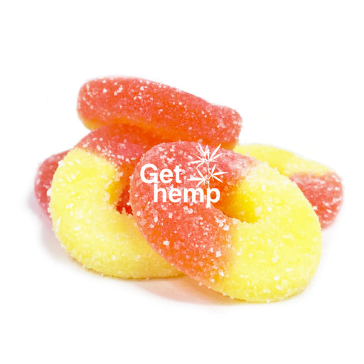 Peach Rings 4 Oz (250 mg CBD) - gethemp.co.uk