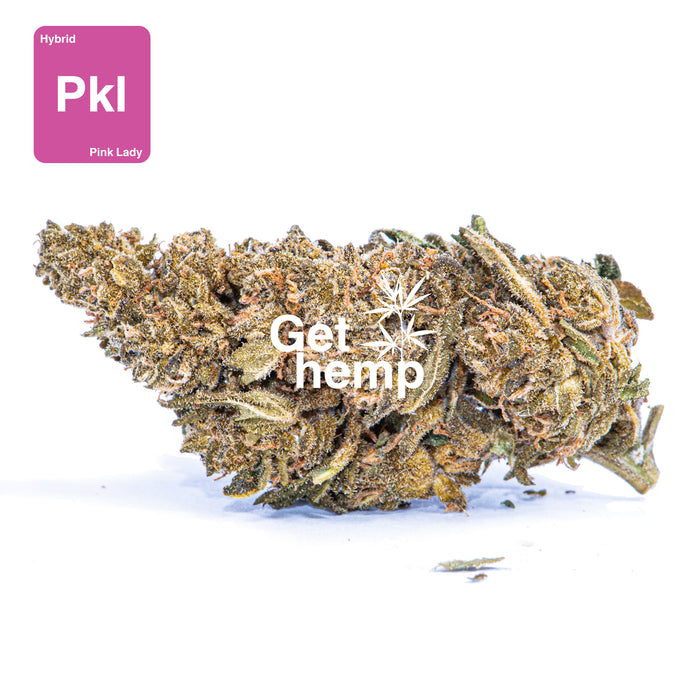 """Pink Lady"" CBD Hemp Flowers (CBD 25% Max) - gethemp.co.uk"