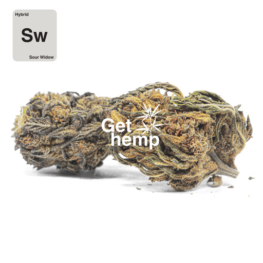 """Sour Widow"" CBD Hemp Flowers (CBD 16% Max) - gethemp.co.uk"