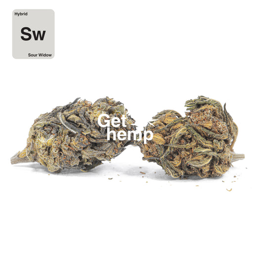 """Sour Widow"" CBD Hemp Flowers (CBD 16% Max) - Gethemp"