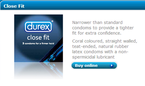 Durex Close Fit Condoms