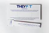 Gift Pack of TheyFit® Custom Fit Condoms