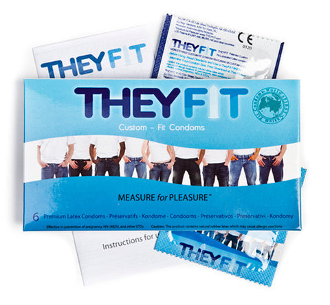 TheyFit Custom Fit Condoms