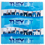 Size A55 TheyFit® Custom Fit Condoms