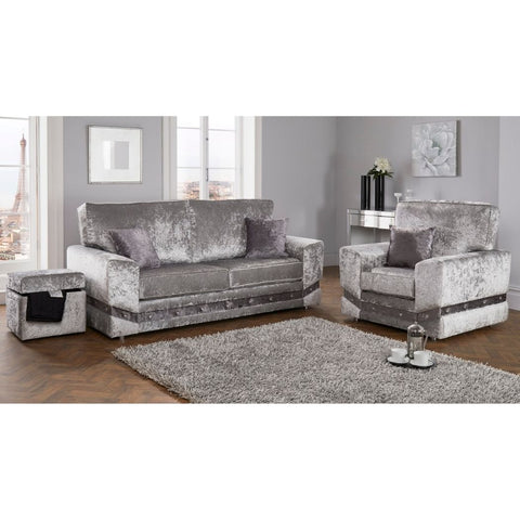 Image of Glitz Sofa Collection - Corner Sofas and Sofa Sets - RJF Furnishings - Online Furniture Store - Finance Available