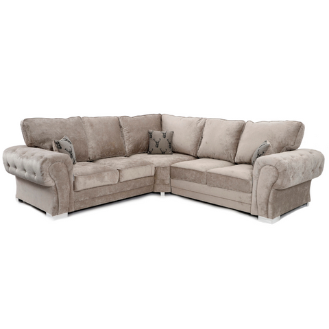 Verona Corner Sofa (Full Back) - Corner Sofas and Sofa Sets - RJF Furnishings - Online Furniture Store - Finance Available