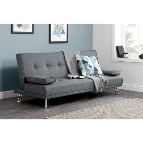 Logan Fabric Sofa Bed - Corner Sofas and Sofa Sets - RJF Furnishings - Online Furniture Store - Finance Available