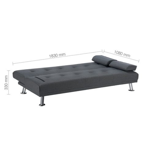 Logan Fabric Sofa Bed - RJF Furnishings - Furniture Specialist