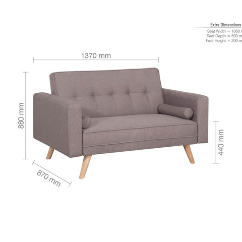 Ethan Sofa Bed 3&2 SET - Corner Sofas and Sofa Sets - RJF Furnishings - Online Furniture Store - Finance Available