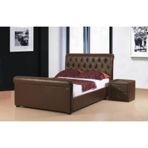 Image of Caxton PU Storage Bed - RJF Furnishings