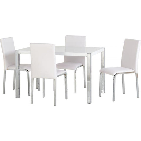 Image of Charisma 4' Dining Set - RJF Furnishings - Furniture Specialist