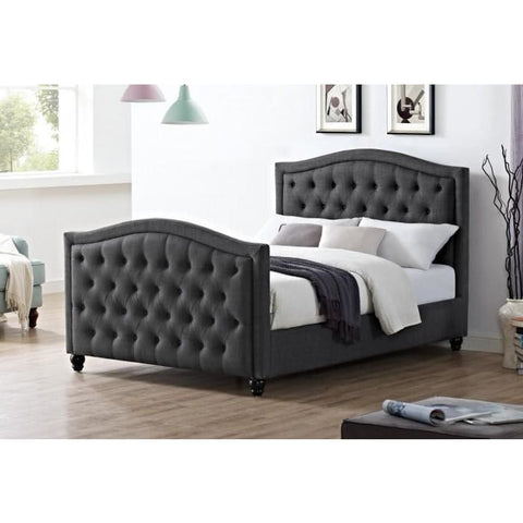 Daytona Linen Fabric Bed - RJF Furnishings - Furniture Specialist