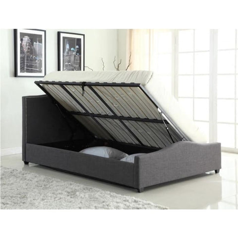 Image of Elle Storage Linen Bed - RJF Furnishings - Furniture Specialist