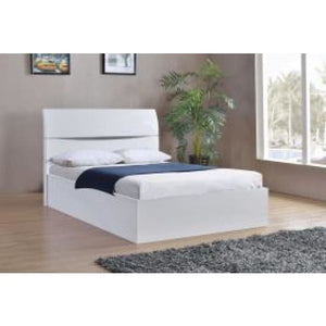 High Gloss Storage Bed - RJF Furnishings - Furniture Specialist