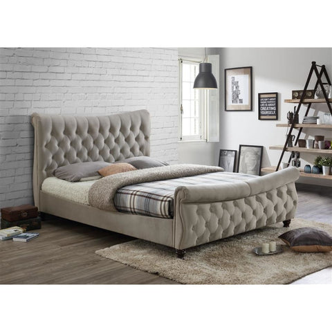 Image of Luxury Fabric Copenhagen Bed - RJF Furnishings