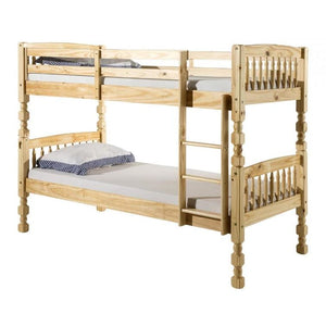 Milano Pine Bunk Bed - RJF Furnishings - Furniture Specialist