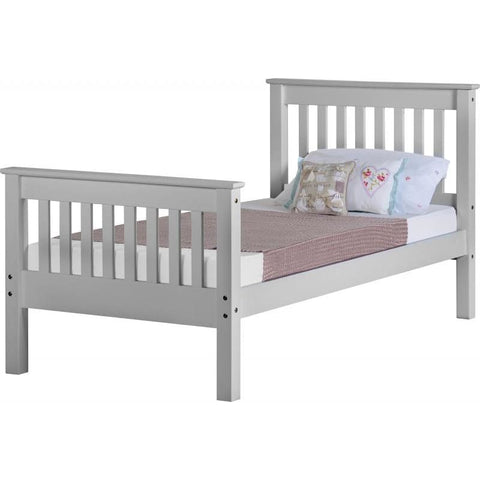 Monaco Bed High Foot End - RJF Furnishings - Furniture Specialist